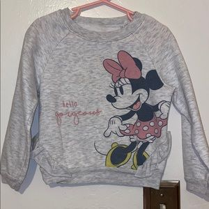 Minnie Mouse pullover sweater